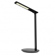 China Aliexpress Newest Style Smart Brightness Adjustable Home LED Desk Lamp with Qi-Enabled Fast Wireless Charging Function for iPhone XS Max/XR/X and Samsung S10 (MH-Q900) factory