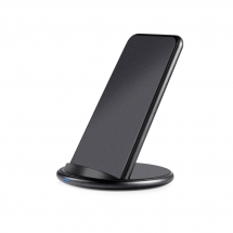 الأمازون 2019 أحدث إصدار Qi Certified Desktop Fast Wireless Mobile Charger for iphone XS Max / XR / X / 8 / 8Plus و Xiaomi 9 (MH-V20B)