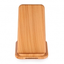 China Shenzhen Good Quality Wooden Color Design Fast Wireless Charging Station for Xiaomi 9 and iphone XS Max/XR/X/8/8Plus (MH-V22C) factory